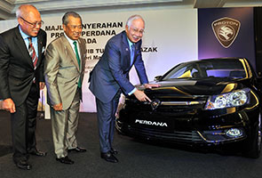 PM launches new-look Proton Perdana as govt's official car