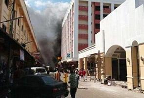 Dua rakyat Malaysia parah dalam letupan di Danok, Thailand
