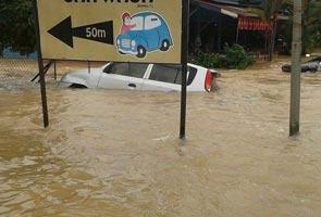 Apa perlu dibuat apabila kereta ditenggelami banjir?