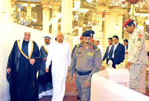 Najib received as guest of Saudi Arabia govt