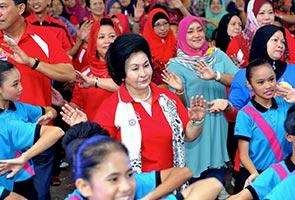 Rosmah bidas tohmahan terhadap PERMATA