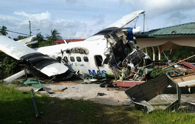 Plane crash in Kudat