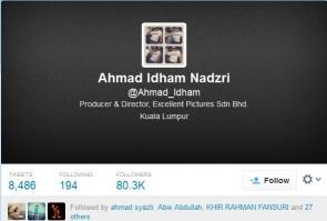Ahmad Idham bikin panas di Twitter