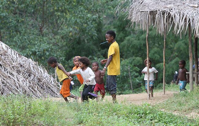 Kanak-kanak orang asli Batek