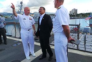 ATM bekerjasama dengan tentera marin Amerika Syarikat
