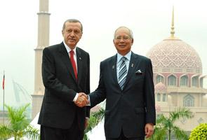 Malaysia dan Turki pilih Islam yang sederhana dan progresif -Najib