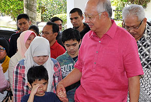 Najib thanks Sweden for facilitating return of children
