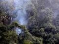 Lightning strike sets Gunung Tempurung ablaze