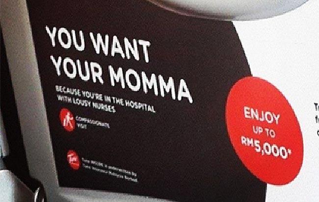 Iklan AirAsia yang berbaur sensitif