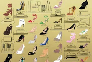 An illustrated guide to Carrie Bradshaw's shoes