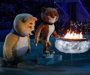 Penutup Olimpik Sochi 2014