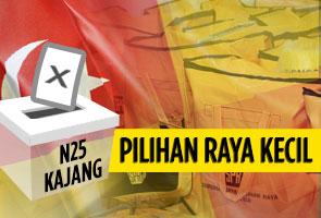 Penamaan calon pilihan raya kecil DUN Kajang