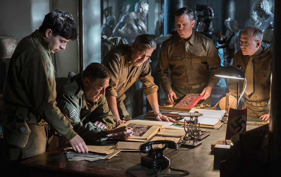 The Monuments Men, World War II, Sony Pictures Entertainment