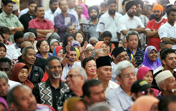 A true Malaysian community lives and harmonises