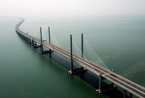 Anak saudara timbalan menteri terjun jambatan baru Pulau Pinang