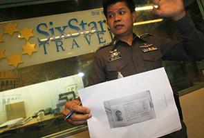 Dua penumpang misteri tidak mungkin pengganas, kata polis Thailand