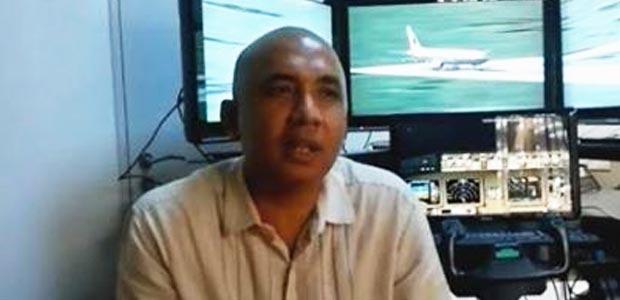Kapten Zaharie Ahmad Shah - Foto Facebook