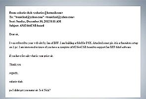 Rakan Kapten Zaharie dedah email perbualan mengenai simulator