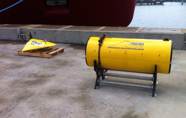 Towed Pinger Locator
