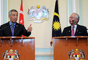 Najib, Lee reiterate high-speed rail link to complete by 2020