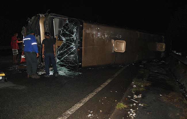 Kemalangan bas di Bentong