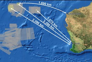 MH370: Two search areas determined for today - JACC