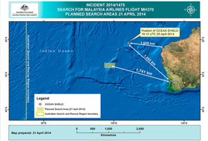MH370: Bluefin-21 continues ninth mission today