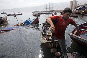 Minor tsunami hits Japan after Chile quake