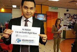 Sertai acara #GlobalSelfie NASA sempena Hari Bumi