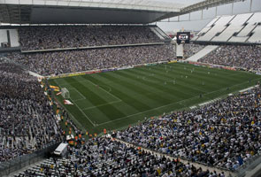 WORLD CUP: ROCKY TEST FOR UNFINISHED KICK-OFF STADIUM