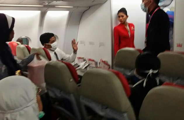 Air Asia X, penumpang, meninggal dunia, Jeddah