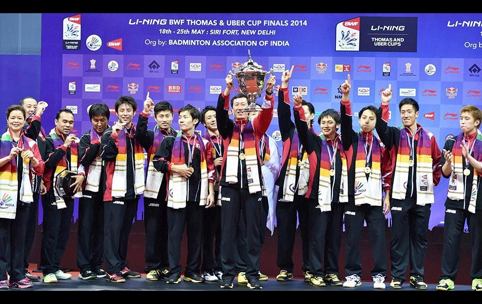 Thomas Cup badminton, badminton, new delhi, Japan, Malaysia,
