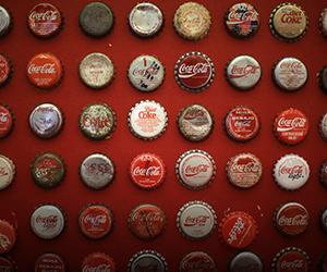 Pameran koleksi Coca-Cola