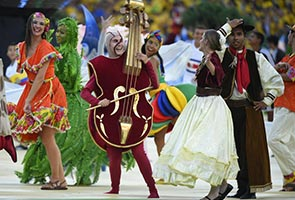 WORLD CUP 2014 OPENING CEREMONY HIGHLIGHTS