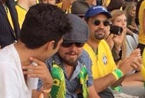LEONARDO DICAPRIO SOAKS UP SUN IN BRAZIL'S BUZIOS