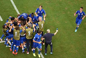 BALOTELLI GOAL GIVES ITALY 2-1 WIN OVER ENGLAND