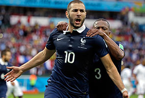 KARIM BENZEMA SCORED TWO AS FRANCE BEAT HONDURAS 3-0
