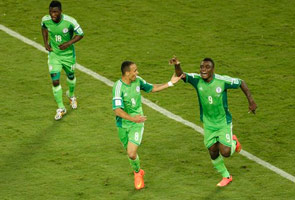 NIGERIA WON KNOCKS OUT BOSNIA