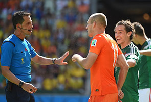 WORLD CUP: ROBBEN SORRY FOR TOURNAMENT DIVE, BUT INSISTS PENALTY WAS RIGHT