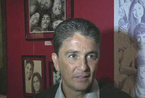 BRAZIL'S BEBETO HONOURED IN FOOTBALL EXHIBITION