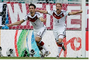 GERMANY DOMINATES PORTUGAL, 4-0