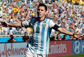 MESSI SAVES THE DAY AS ARGENTINA BEAT IRAN