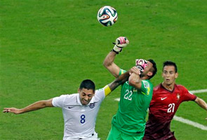 WORLD CUP: VARELA'S LATE HEADER SAVES PORTUGAL'S TOURNAMENT HOPES