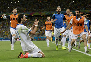 WORLD CUP: LATE PENALTY DRAMA AS GREECE OUST IVORY COAST 2-1