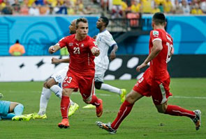 SWITZERLAND DEFEATED HONDURAS 3-0