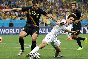 BELGIUM WINS 1-0 OVER S.KOREA, TOPS GROUP H