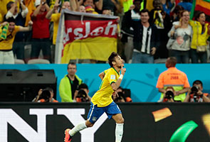 BRAZIL BEAT CROATIA 3-1 IN WORLD CUP OPENER