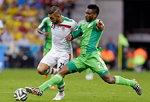 WORLD CUP: NIGERIA, IRAN STALEMATE LEAVES BRAZILIANS UNIMPRESSED