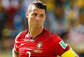 CHRISTIANO RONALDO 'FACING' WORLD CUP 2014