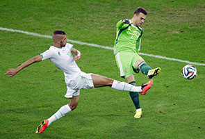 WORLD CUP: LASER BEAM STEALS THE SHOW DESPITE ALGERIA'S QUALIFICATION TO TOP 16
